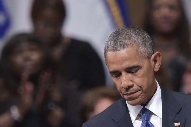 «Je suis ici pour dire que nous devons... (AFP, Mandel Ngan)
