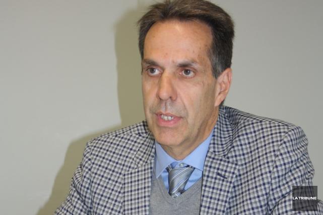 André Métras, directeur général de Magog Technopole.... (Archives La Tribune)