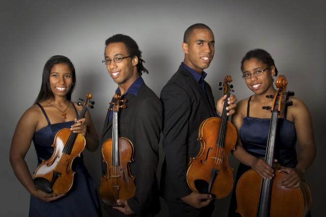 Le quatuor originaire de Hull, Despax.... (Courtoisie)