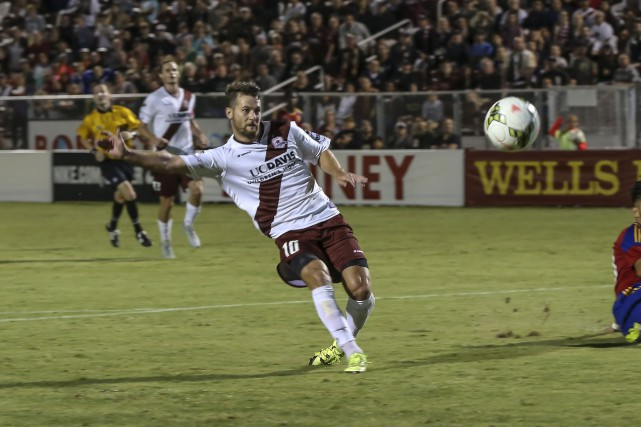Thomas Stewart, le nouveau striker du Fury.... (Courtoisie, San Antonio Republic FC)