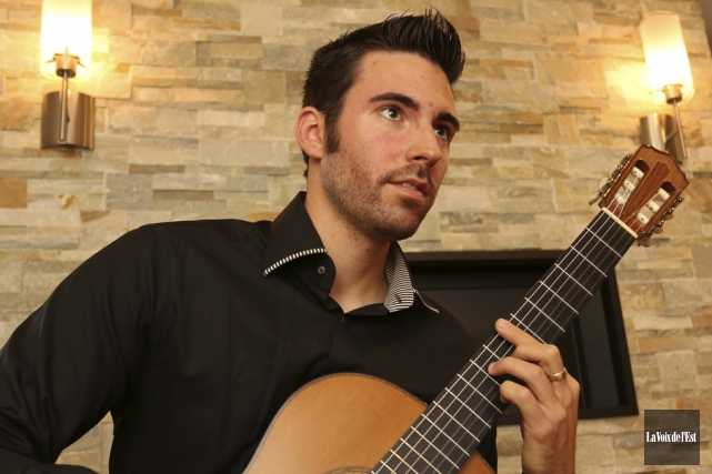 Le guitariste Thierry Bégin-Lamontagne.... (Archives La Voix de l'Est)