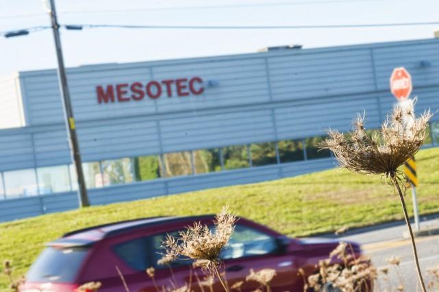 L'entreprise sherbrookoise Mesotec reçoit une part importante d'une... (Spectre média, Julien Chamberland)