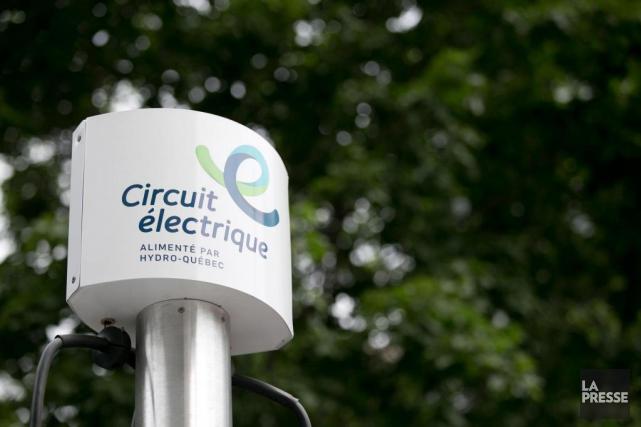 On compte673bornes de recharge pour voitures électriques au... (Archives La Presse, François Roy)
