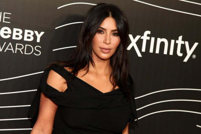 Kim Kardashian a rapporté 45 millions $ avec l'application Kim Kardashian - Hollywood.... (Photo Andy Kropa, Archives Associated Press)