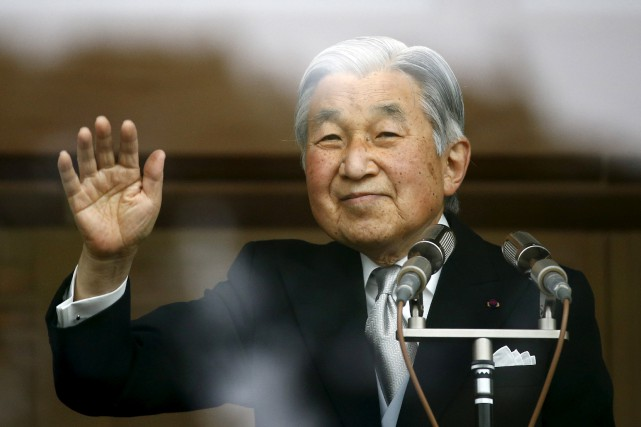 Akihito, âgé de 82 ans, a confié à... (PHOTO REUTERS)