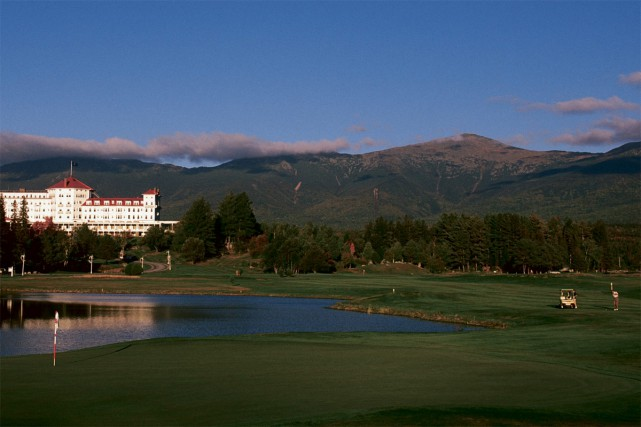 Le parcours principal du Mount Washington Course a... (Photo fournie par Omni Mount Washinton)