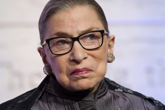 Nommée par le président Bill Clinton, Ruth Bader... (photo Cliff Owen, archives AP)
