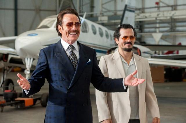 Dans Infiltrator,Bryan Cranston (à gauche) est l'agent des... (Photo Broad Green Pictures)