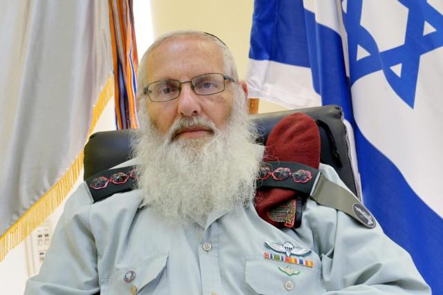 Le rabbin Eyal Karima déjà affirmé qu'il était... (photo archives idf/REUTERS)