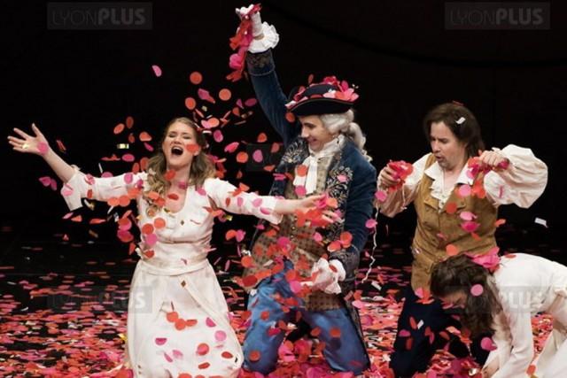 Présenté depuis le 22 juin, L'enlèvement au sérail... (Photo fournie par l'Opéra de Lyon)