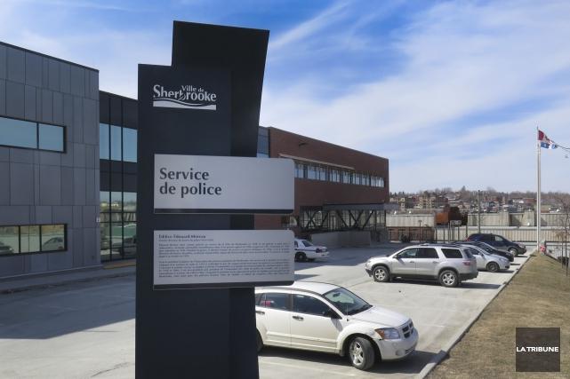 Le quartier général du SPS est situé sur... (Archives La Tribune, René Marquis)