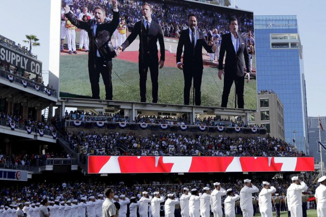 Le groupe The Tenors (que l'on voit ici... (PHOTO AP)
