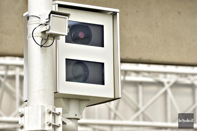 Les radars photo au Québec sont dans le rouge et il fallait s'y attendre. Si... (Photothèque Le Soleil, Pascal Ratthé)