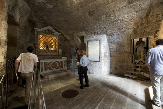 Située en plein coeur du Forum romain, la... (AP, Andrew Medichini)