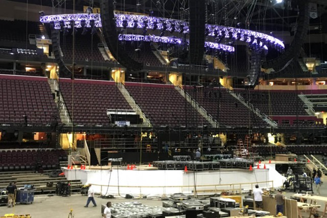 La convention républicaine aura lieu au Quicken Loans Arena,... (AP)