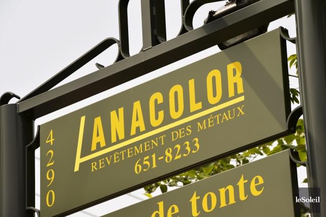 L'entreprise Anacolor entretient des relations tendues avec son... (Photothèque Le Soleil, Pascal Ratthé)