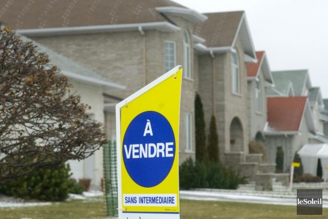Le prix médian des maisons de plain-pied a bondi de 4,6% à Québec par rapport... (Photothèque Le Soleil)