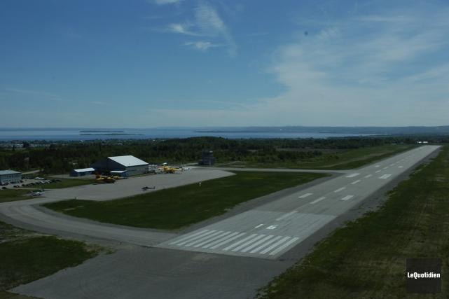 NAV Canada propose à l'aéroport de Roberval de... (Archives, Le Quotidien)