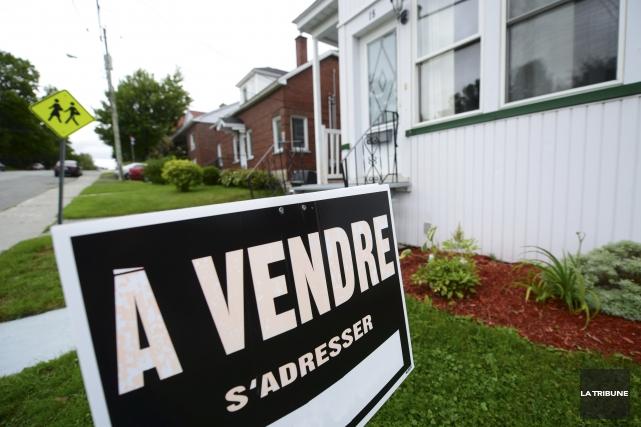 Le prix de vente des maisons a augmenté... (Archives La Tribune, Maxime Picard)