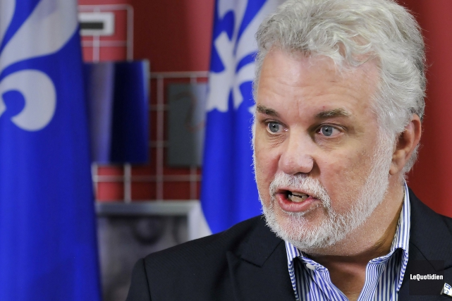 Le premier ministre du Québec, Philippe Couillard... (Archives, Le Quotidien)