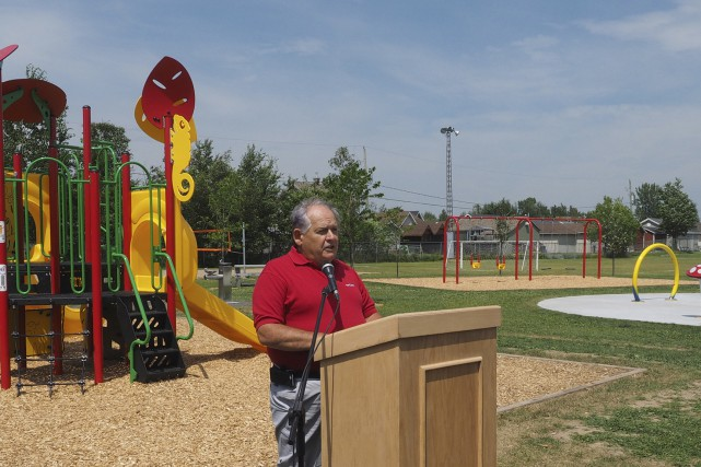 Le réaménagement du parc s'inscrit dans l'objectif du... (Alain Dion)