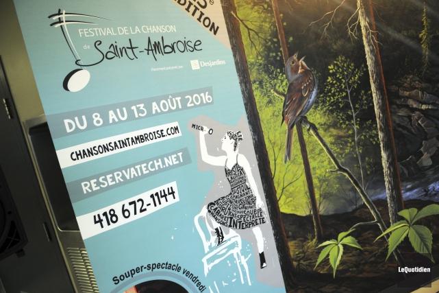 La 25e édition du Festival de la chanson... (Photo Le Quotidien, Mariane L. St-Gelais)