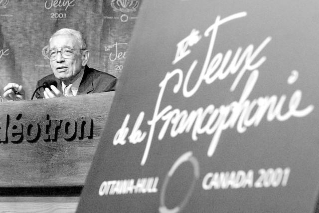 Boutros Boutros Ghali, premier secrétaire général de la... (Archives, La Presse Canadienne)