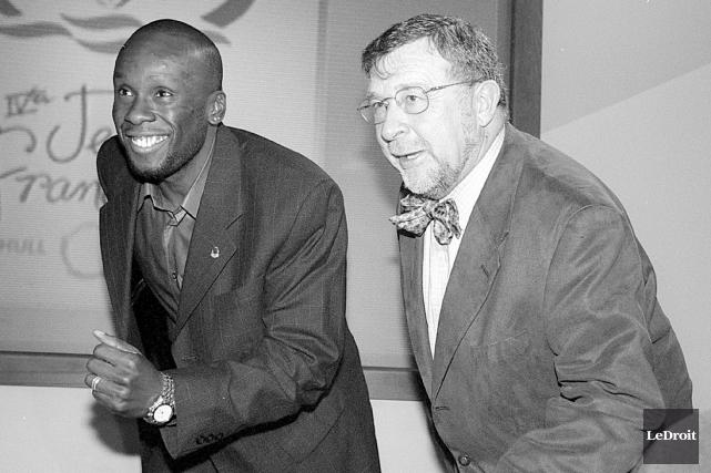 Bruny Surin, ambassadeur des 4e Jeux de la... (Archives, LeDroit)