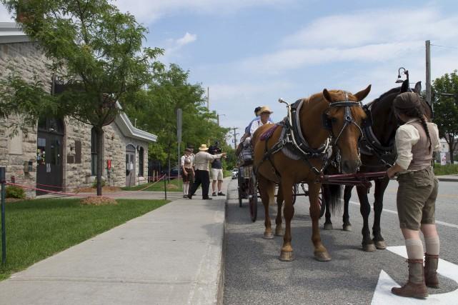 Les organisateurs du Vieux-Hull à cheval ont décidé... (Simon Bigras, Collaboration spéciale)
