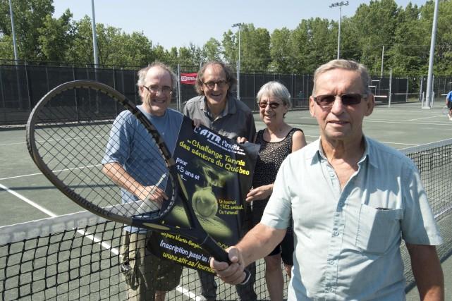 Le Challenge tennis des seniors du Québec s'adresse... (Sylvain Mayer)