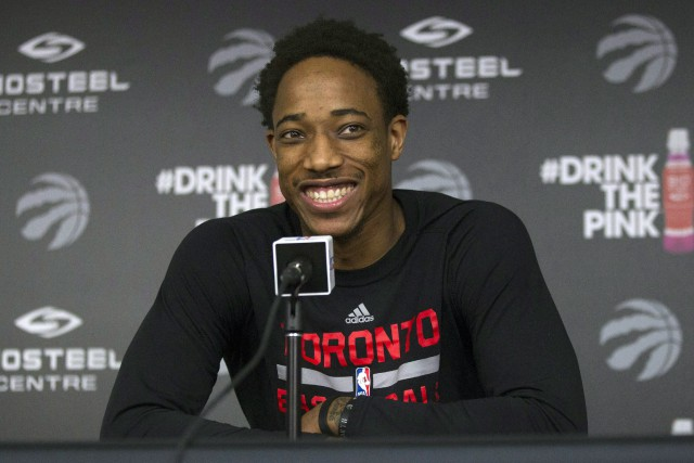 DeMar DeRozan... (Photo Chris Young, archives PC)