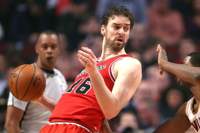 Pau Gasol... (Photo Dennis Wierzbicki, USA Today Sports)