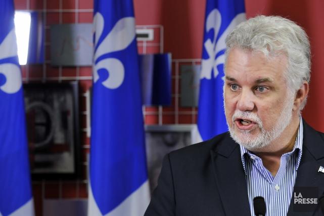 e premier ministre Philippe Couillard n'a pas démontré d'intérêt pour que le... (Archives La Presse)