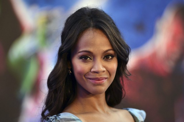 Zoe Saldana... (Archives AFP)