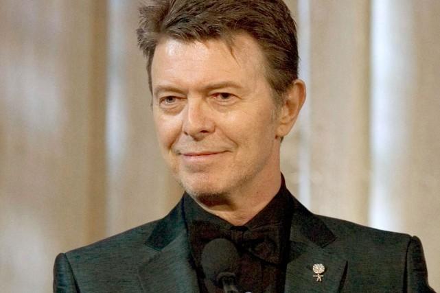 David Bowie possédait quelque 200 oeuvres d'art, dont... (Archives AP, Stephen Chernin)