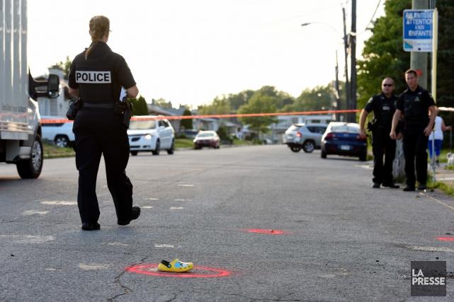 Les policiers de la Sécurité publique de Trois-Rivières... (François Gervais)