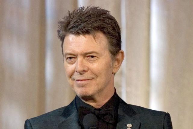 David Bowie est décédé le 10 janvier dernier.... (PHOTO ARCHIVES AP)
