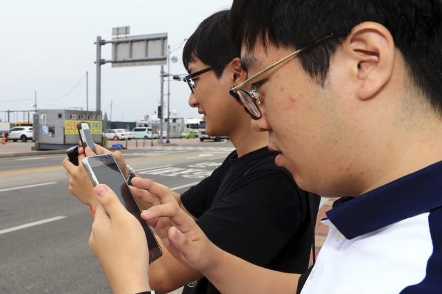 Le jeu n'a pas été officiellement lancé en... (AP, Jong-hun)