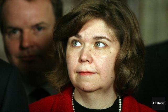 La députée fédérale Anita Vandenbeld souligne que les... (Archives, LeDroit)