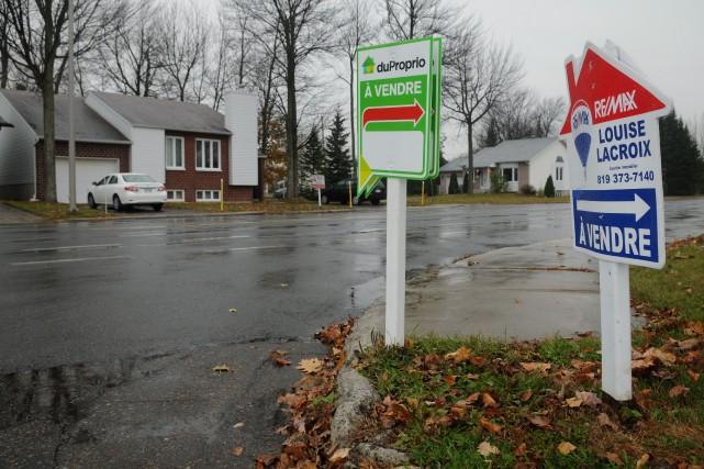 Une hausse du prix des maisons de 6,8%... (Francois Gervais)