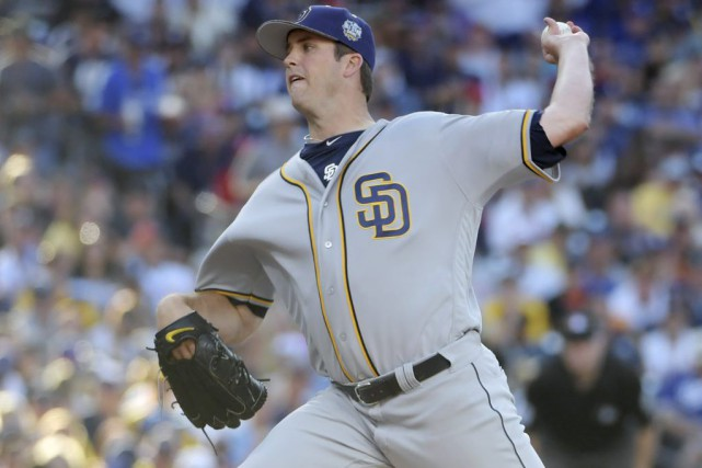 Drew Pomeranz... (PHOTO Kirby Lee, USA TODAY Sports)