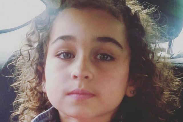 Le corps deTaliyah Leigh Marsman, 5 ans,a été... (PHOTO LA PRESSE CANADIENNE)