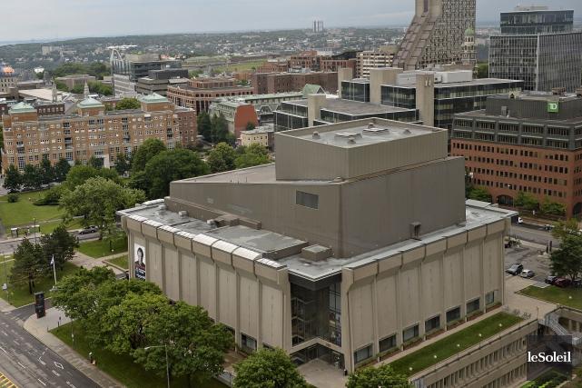 Le bâtimentdu Grand Théâtre de Québecest rongé :... (Le Soleil, Alice Chiche)