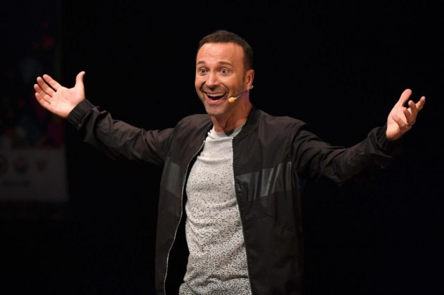 Joël Legendre a donné son premier spectacle d'humour,... (Photo Bernard Brault, La Presse)