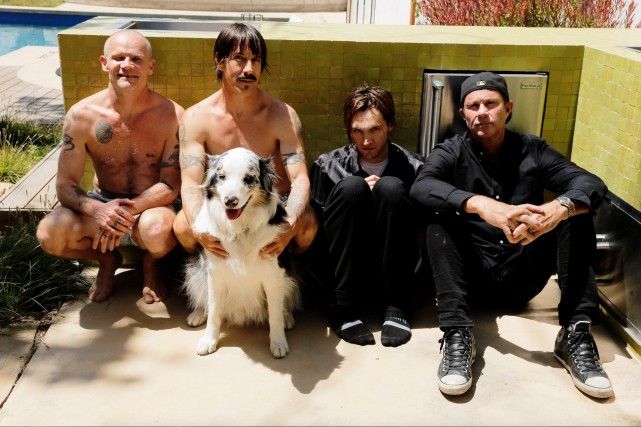 Red Hot Chili Peppers... (Photo Steve Keros)