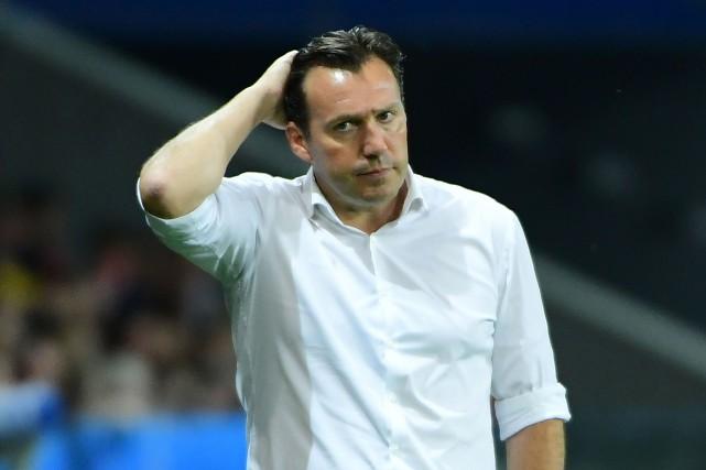Le sélectionneur de l'équipe de soccer de la... (Photo Emmanuel Dunand, AFP)