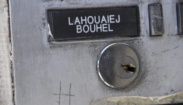 Le nom de Mohamed Lahoualej Bouhlel sur une... (PHOTO ANNE-CHRISTINE POUJOULAT, AFP)