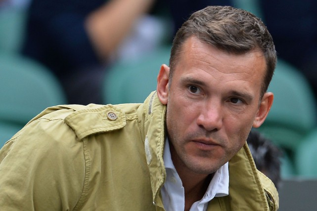 Andreï Shevchenko... (Photo Glyn Kirk, AFP)