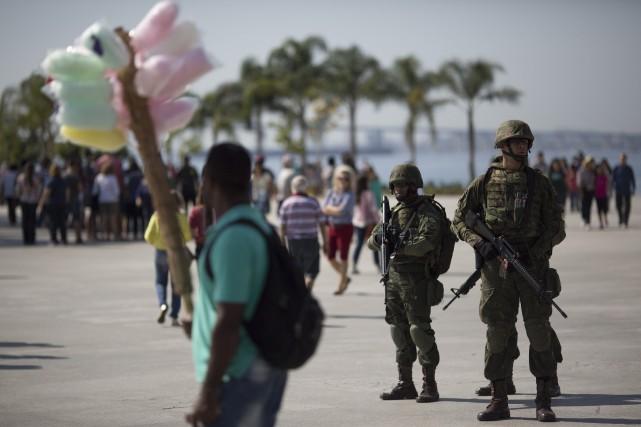 Le responsable du renseignement brésilien a cité parmi... (Photo Leo Correa, AP)