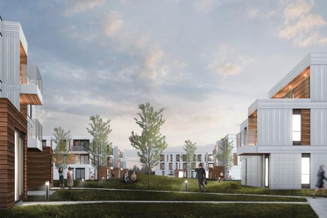 La firme CCM2 Architectes a imaginé un complexe... (Fournie par Action-habitation)